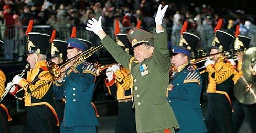 Владимир Халилов, главный военный дирижер Российской армии.