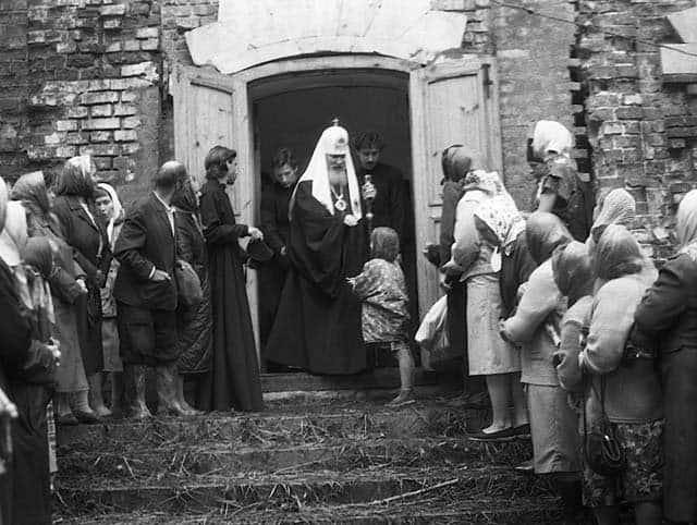 Патриарх в монастыре. Серия «Дорога к храму»