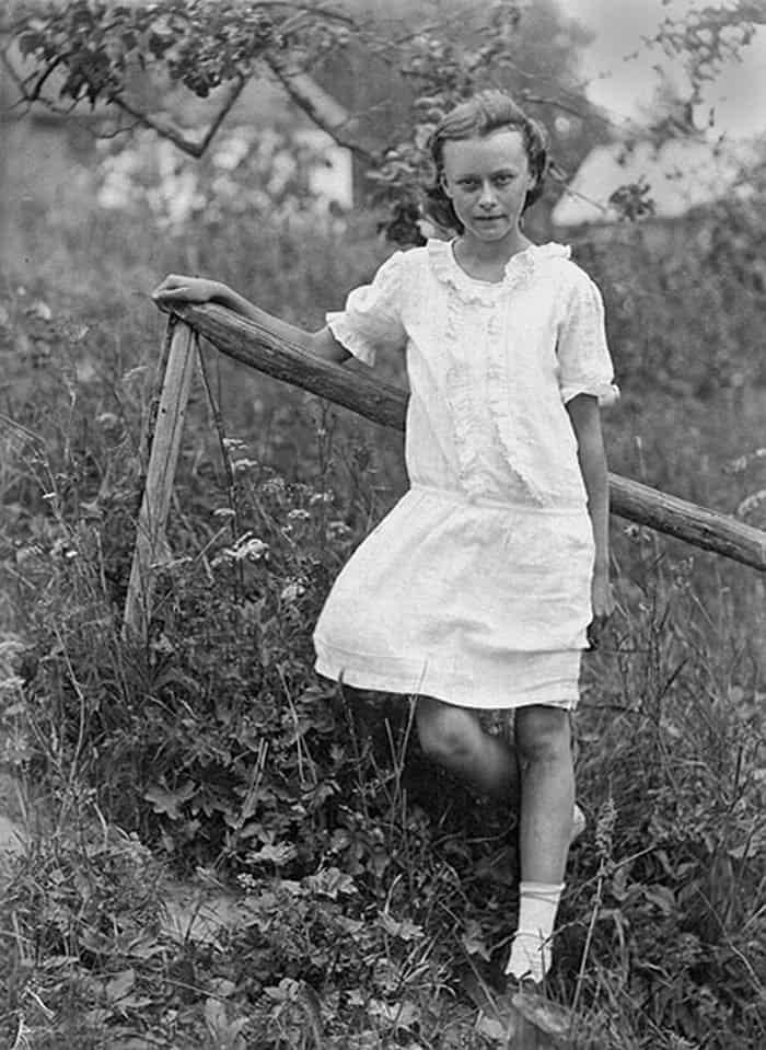 Ирина Медведь. 1931 г.