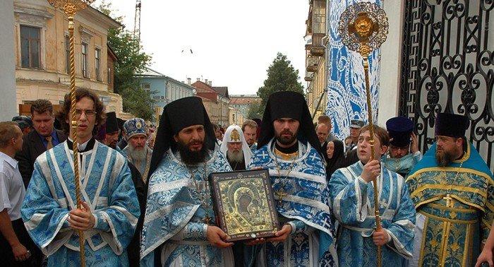 Казанская икона Богородицы: возвращение святыни
