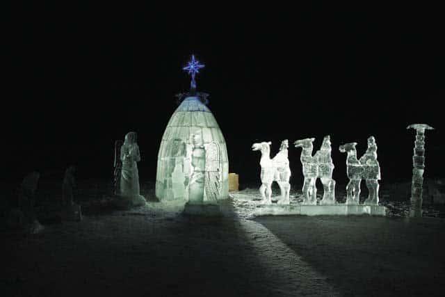 Рождество Церкви. Телеведущий Н. Державин, журналист Л. Кантаржи, К. Поздняева