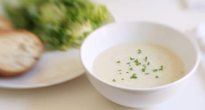 Постные рецепты: суп-пюре из цветной капусты