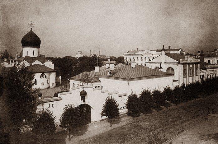 Марфо-Мариинская обитель милосердия. Москва, конец XIX в.