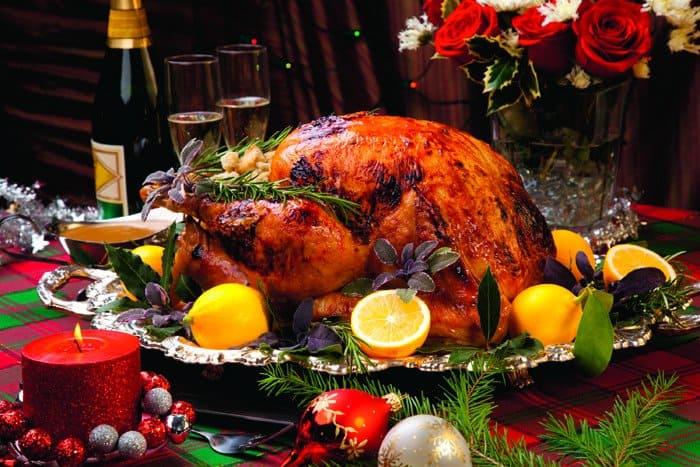 Праздничное меню к Рождеству
