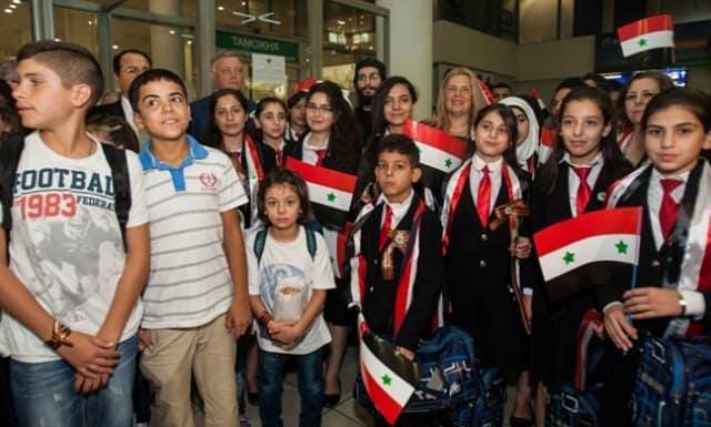 Фонд Андрея Первозванного пригласил на отдых в Россию детей-сирот из Сирии