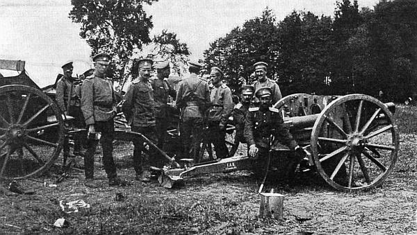 Российские археологи обследовали место одного из первых сражений 1914 года