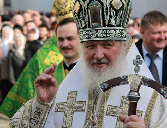 Крестный ход в честь 700-летия святого Сергия Радонежского возглавил патриарх Кирилл
