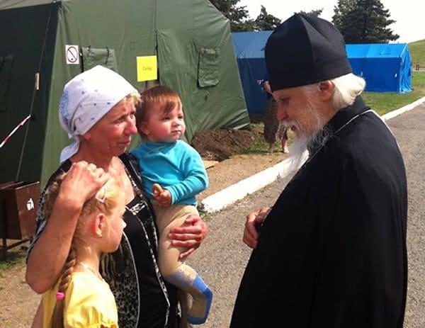 В Церкви принят план комплексной помощи беженцам