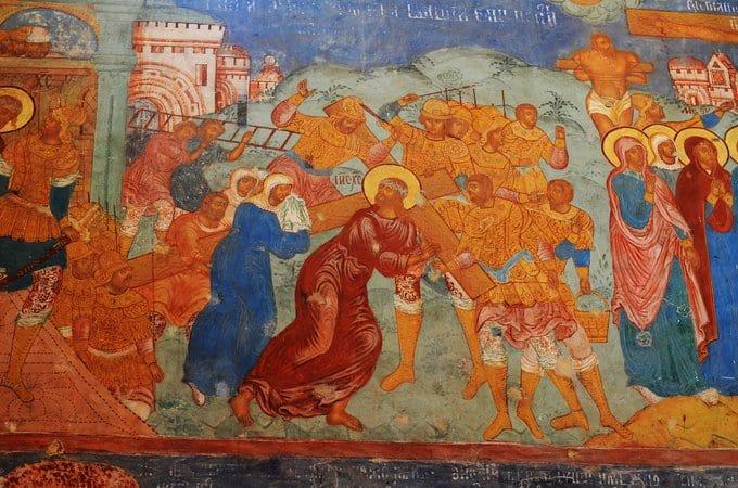 Уникальные фрески XVII века представят в историческом соборе Суздаля