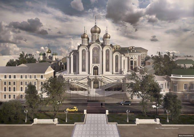 Власти Москвы утвердили строительство храма новомучеников на Лубянке