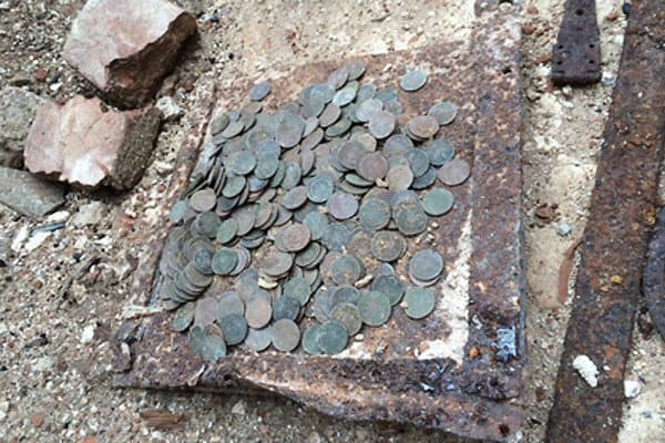 В Подмосковье нашли денежный клад начала XIX века