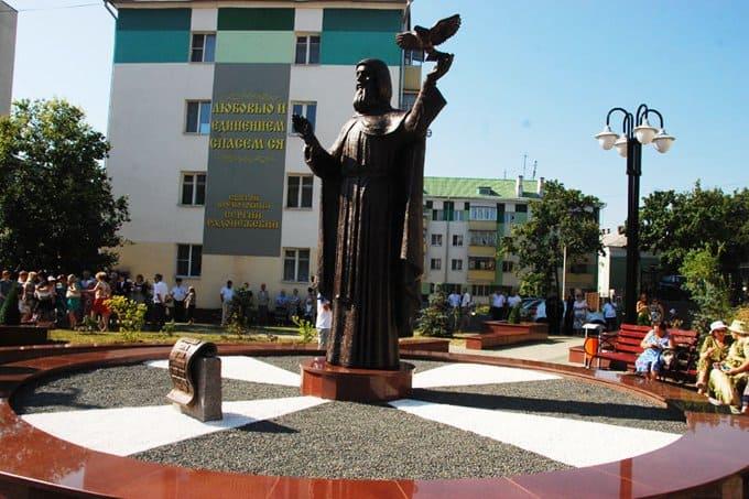Памятник преподобному Сергию Радонежскому открыли в Белгороде