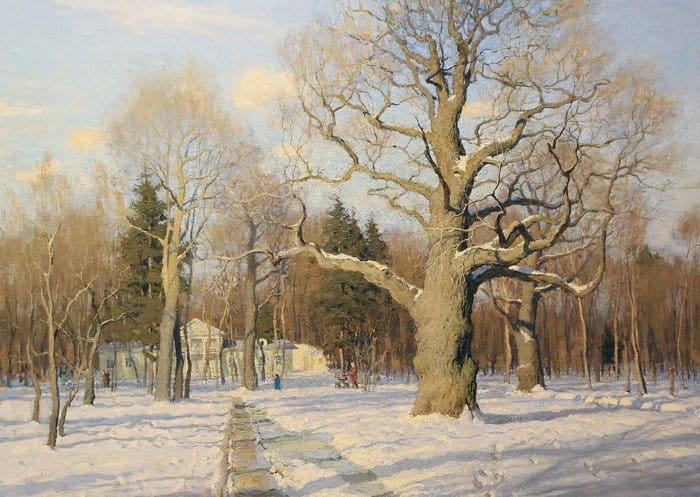Март. В.Л. Худяков.  Дипломная работа. 2010