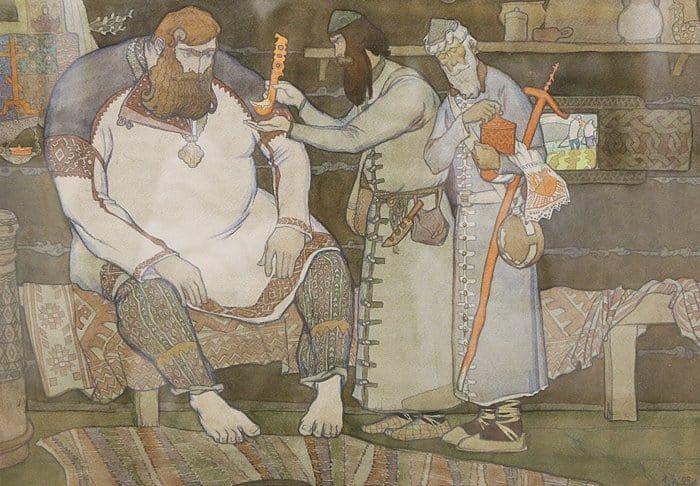 Эскиз композиции. Е. А. Загайнов. 5 курс. 2006