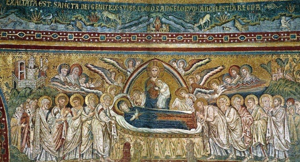 Успение: Путь Богородицы в вечность