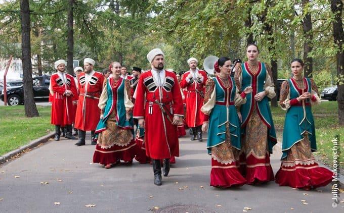 Казачий фестиваль в Москве собрал почти 50 тысяч горожан