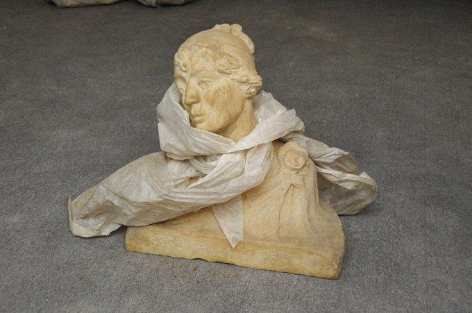 Скульптуры конца XIX века обнаружили в Бахрушинском музее Москвы