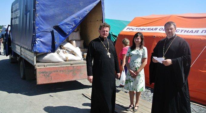 За полгода Русская Церковь отправила на Украину почти 170 тонн гумпомощи