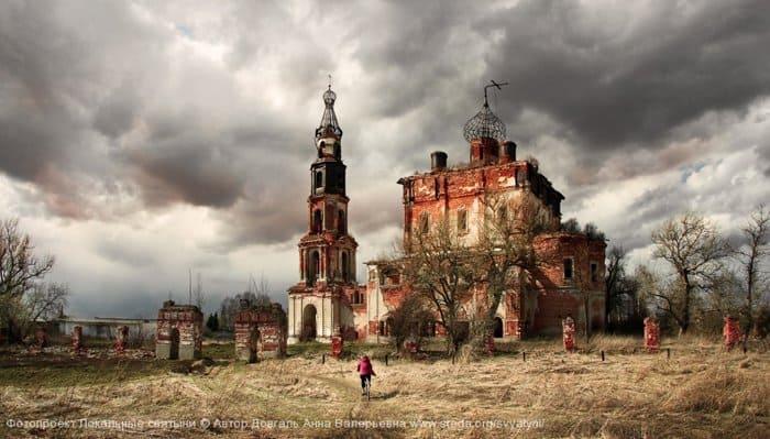 Довгаль Анна - Кой  Церковь святой Троицы в селе Кой Тверской области