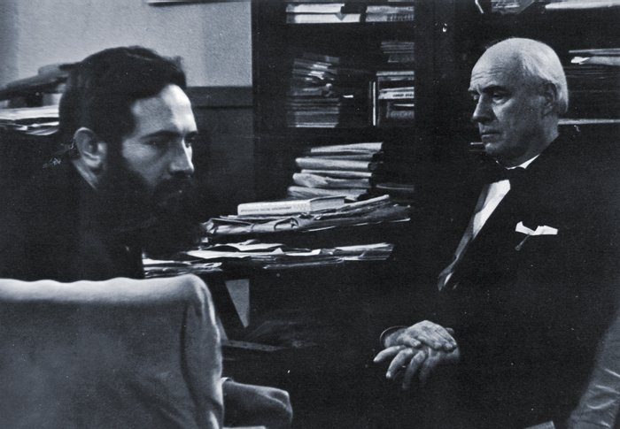 С Иваном  Козловским
