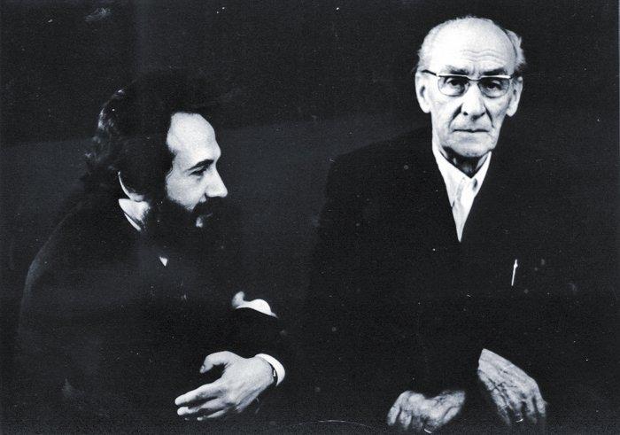 С Евгением Мравинским