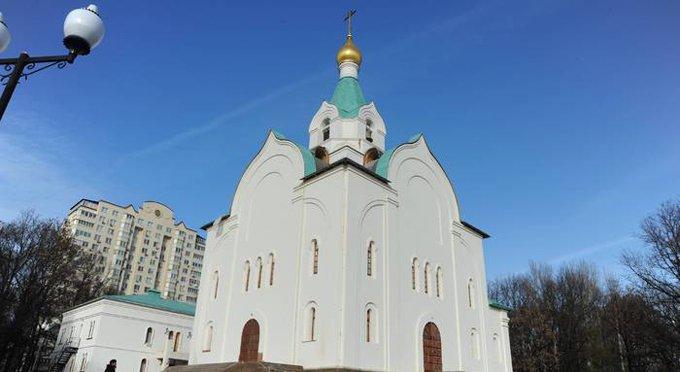 К концу года в Москве достроят храм в честь первого патриарха