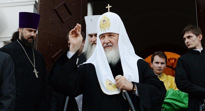 Человек может стать гуманным, только благодаря Богу, - патриарх Кирилл