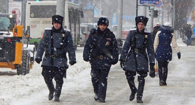 С декабря московской полиции начнут помогать казаки