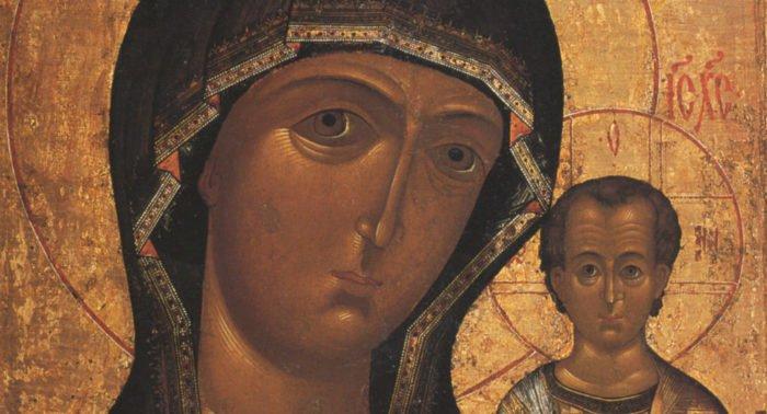 Казанская икона. Иконография