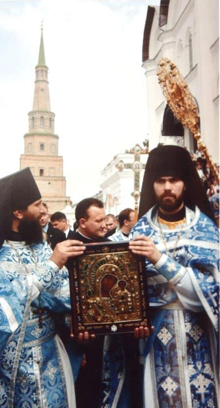 Казанская икона Божьей Матери (на снимке) возвращена в Казань. Фото Итар-Тасс