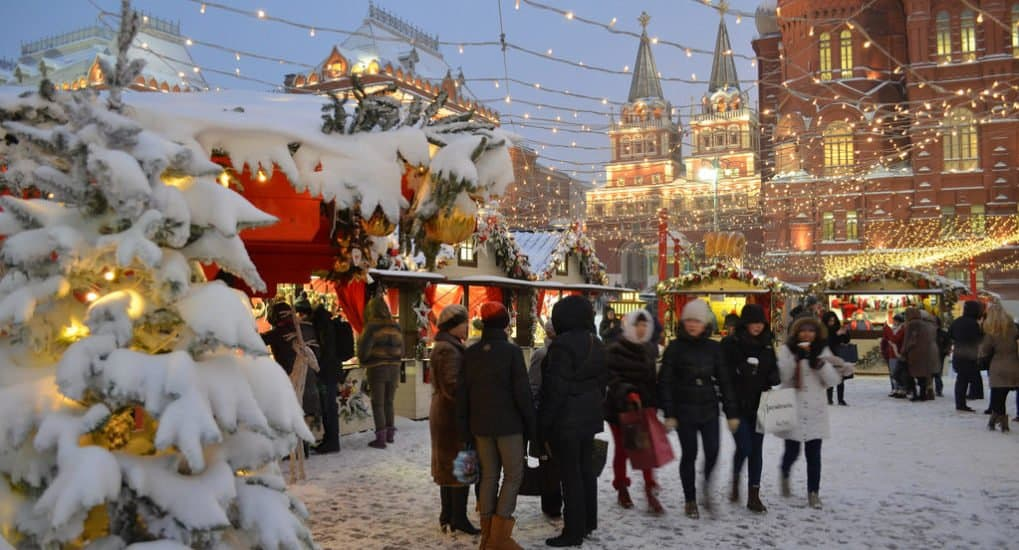 Рождество в Москве