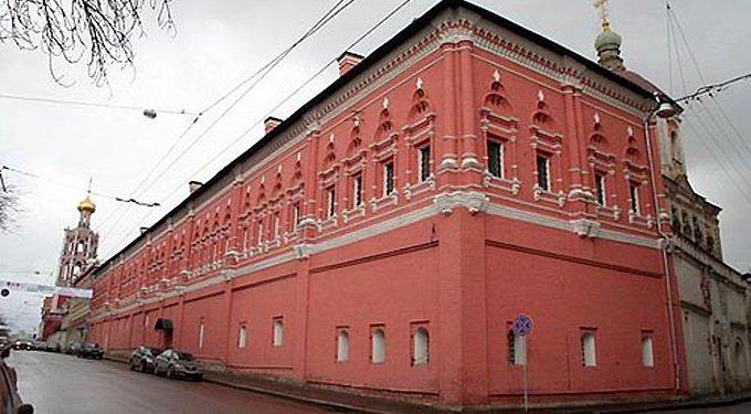 Высоко-Петровскому монастырю вернули Нарышкинские палаты