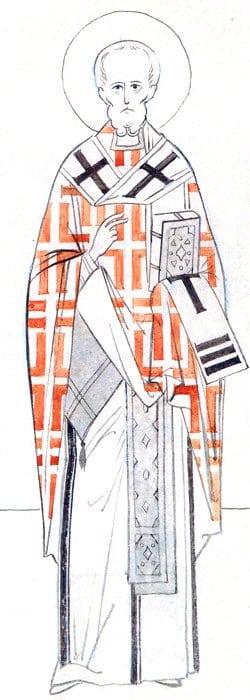 Прорись монахини Иулиании (Соколовой М. Н.). Середина XX века