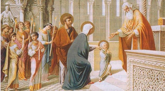 Православные празднуют Введение Богородицы во храм