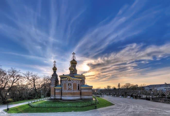 Русский храм Марии Магдалины в Дармштадте