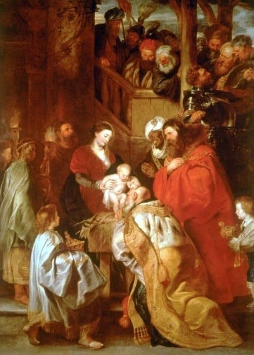 Поклонение волхвов. Питер Пауль Рубенс, ок. 1620 г.