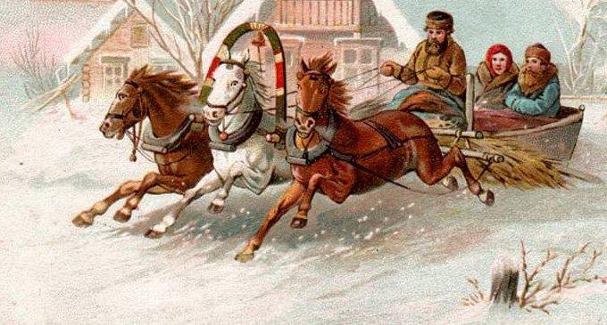 Как встречали Рождество на Руси