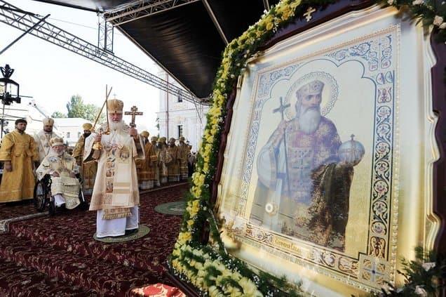 Патриарх Кирилл предложил посвятить князю Владимиру единый урок памяти