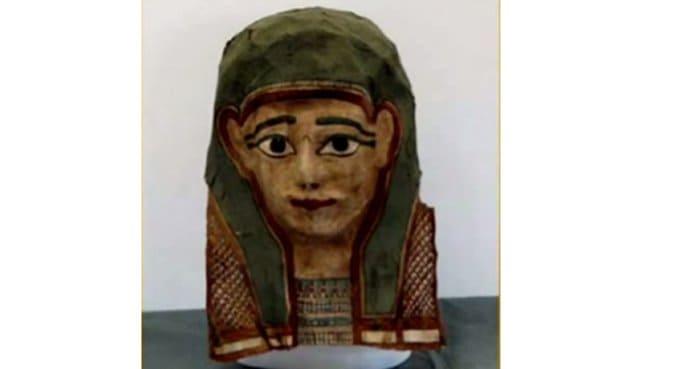 В маске мумии предположительно нашли древнейший фрагмент Евангелия