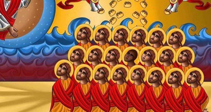 Казненных в Ливии египетских христиан канонизировали