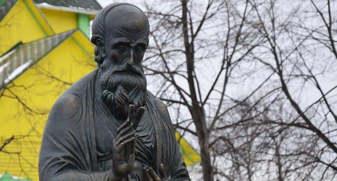 Небесному покровителю Симбирска открыли памятник