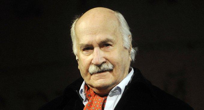Артист Владимир Зельдин отмечает 100-летний юбилей
