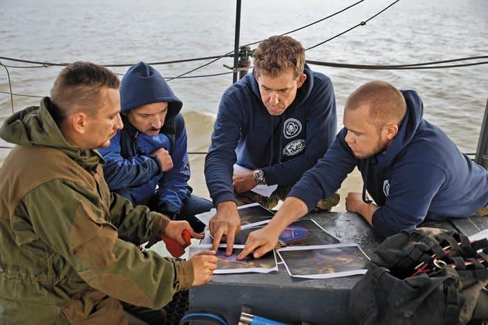 Изучение подводных съемок