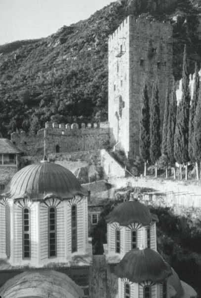 Старые фото Афона (1928-1930-е годы) Фото Фреда Блоссома с сайта http://www.isihazm.ru/