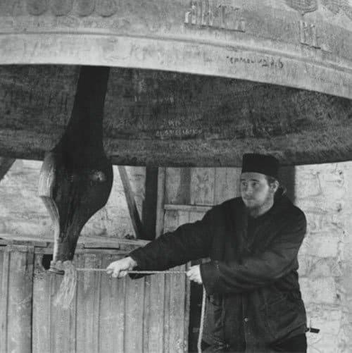 Колокол в Русском монастыре. Снимки второй миссии Петра Севастьянова в 1857 г.