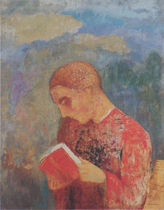 Иллюстрация: Одилон Редон. Ок. 1914