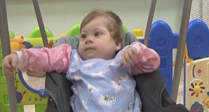 Малышка Вера ищет родителей