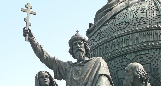 Святой Владимир, гость с юга