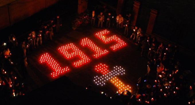 В мире вспоминают жертв геноцида армянского народа