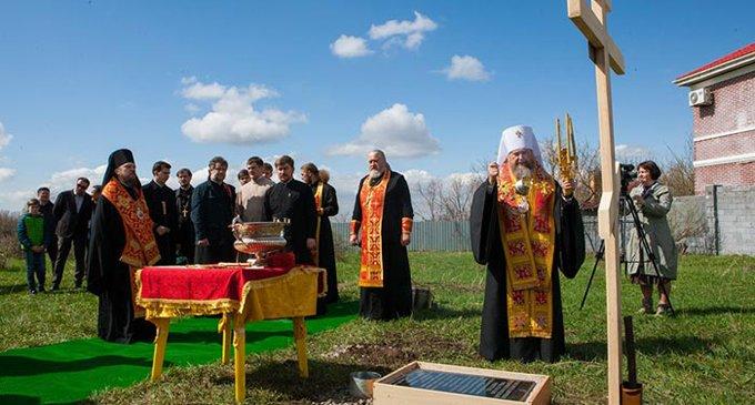 В Алма-Ате заложили храм в честь Крестителя Руси